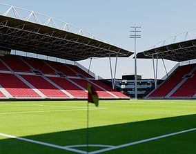 Stadion Galgenwaard - Utrecht 3D asset