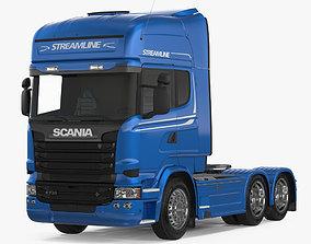 3D Scania Streamline Truck