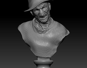 nightmare Freddy Krueger 3D print model