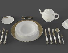 Dinnerware 3D model