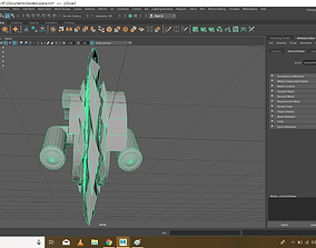 3D print model Destroyer Spaceship