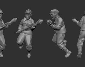 3D printable model Young volkssturm fighter