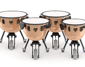 3D Yamaha Percussion Timpani TP-3300 Series