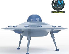 Flying saucer 2 3D