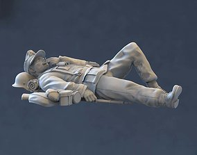3D printable model German soldier figurines