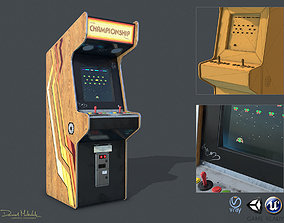 Game Machine PBR 3D asset