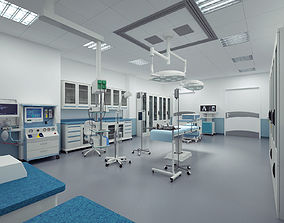 operation Operating room 3D model