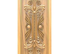 3D Door design carve