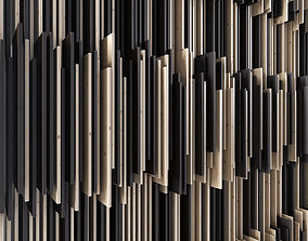 Parametric wood panel 3D model