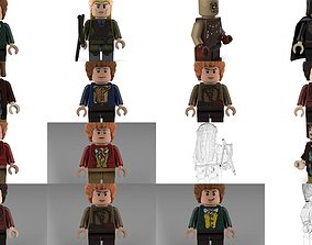 Movie Characters Brick Minifigures 3 3D