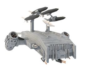 Sci-Fi Mecha Hunter Killer Military Airforce 3D asset 1