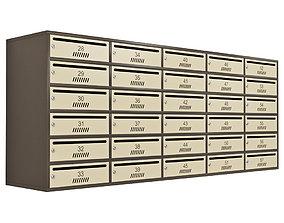 Mailbox 3D model hall