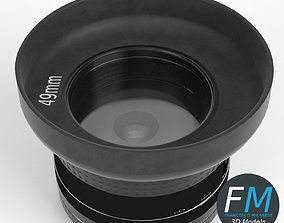 Camera lens 3D PBR