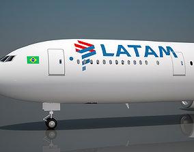 peru 3D model Latam Airlines Boeing 777 ER