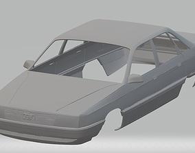 Audi 100 Printable Body Car