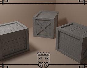 Medieval fantasy box 1 3D print model