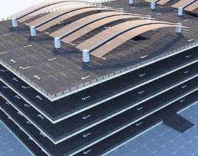 3D model Multi Storey Parking Garage