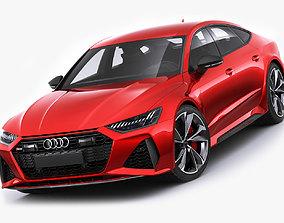 3D model Audi RS7 Sportback 2020