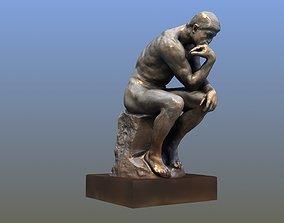 The Thinker 3D model