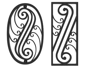 3D Wrought iron elements vol 3