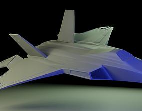 F-22 Raptor 3D asset