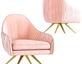 Zuzi Powder Swivel Chair 3D