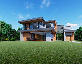Luxurious Park Family Home 3D model