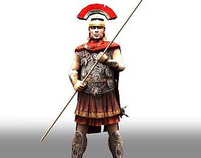 3D asset animated Roman centurion