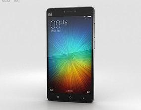 phone 3D Xiaomi Mi 4s Black