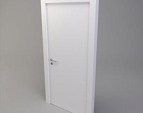 3D White Door