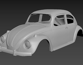Volkswagen Beetle 1967 Body for print 3D printable model
