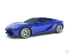 3D lamborghini Lamborghini Asterion
