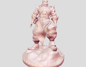 Zeus Warrior 3D print model