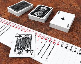 3D asset Playing Cards GRIMOIRE - Poker Card Set 5 - 1