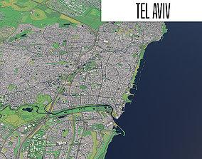 Tel Aviv 3D model