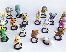 3D print model Pedobear and Pals