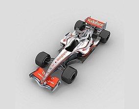3D model McLaren F1 MP4-22