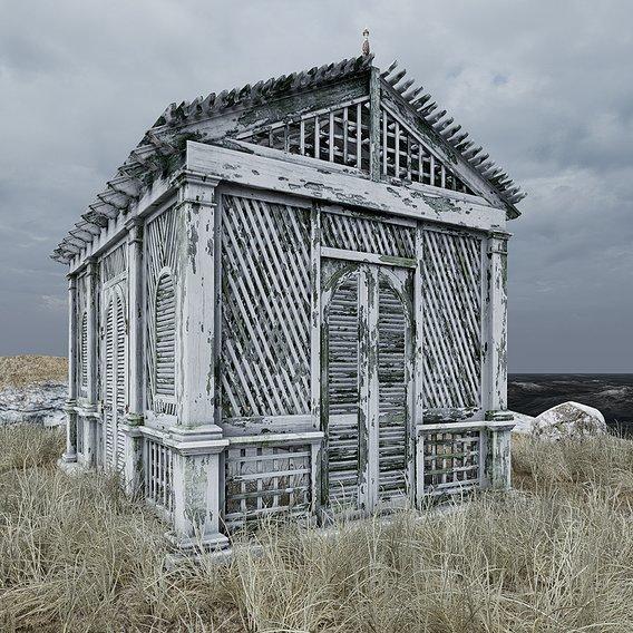 Ruin cabin