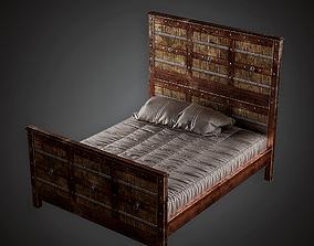 Royal Bed - MVL - PBR Game Ready 3D asset