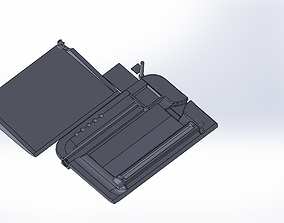 3D printable model Plate to roll easier