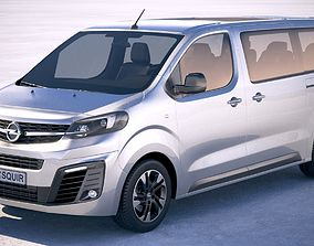 3D Opel Zafira Life 2020