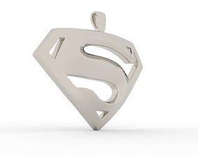 S Logo Pendant Platinum - Version 1 3D print model