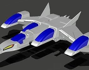 3D printable model Nave de Los Halcones Galacticos