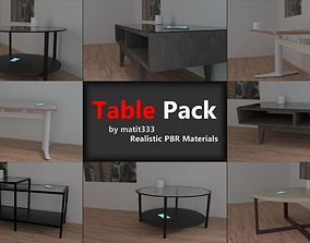 3D asset Table Collection