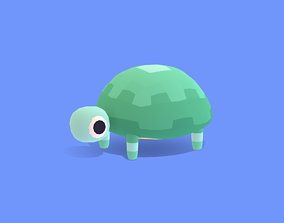 3D asset Voldy the Tortoise - Quirky Series