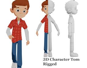 Tom character 3D asset