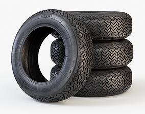 Pirelli CN36 Classic Car Tyre 3D model