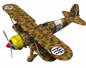 Fiat CR42 Falco 3D model