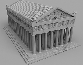 Great Greek temple 3D printable model