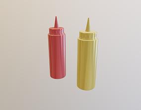 3D model Mustard
